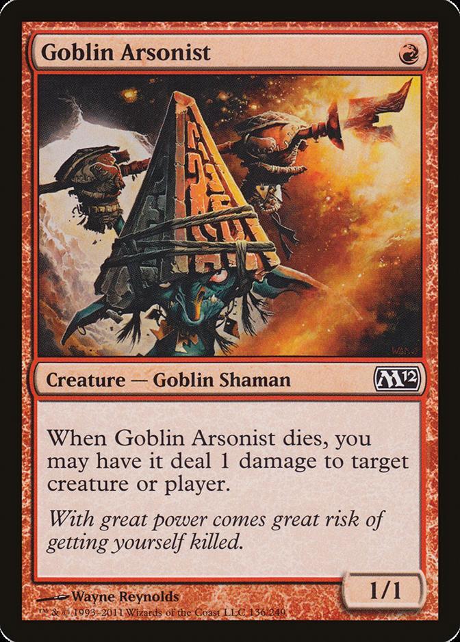 Goblin Arsonist [M12]