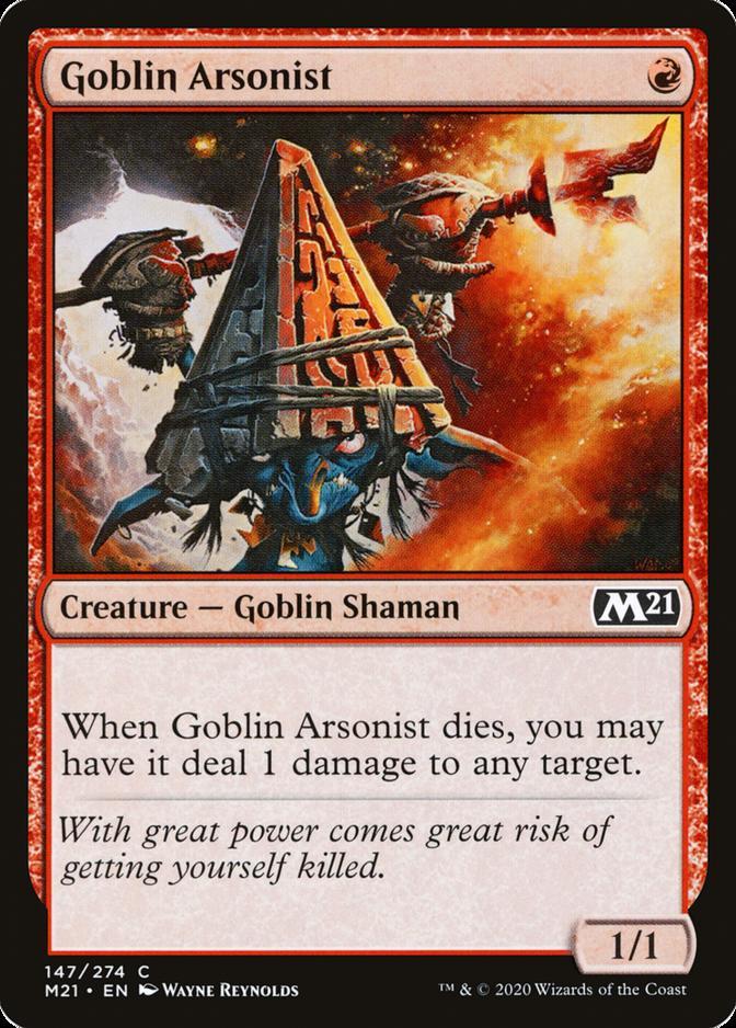 Goblin Arsonist [M21]