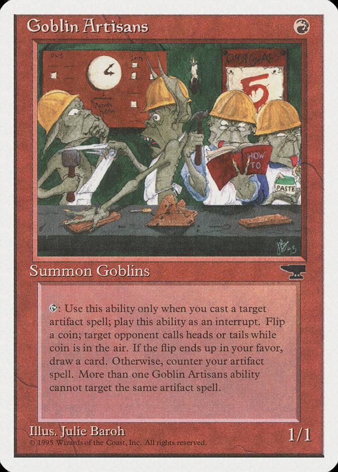 Goblin Artisans [CHR]