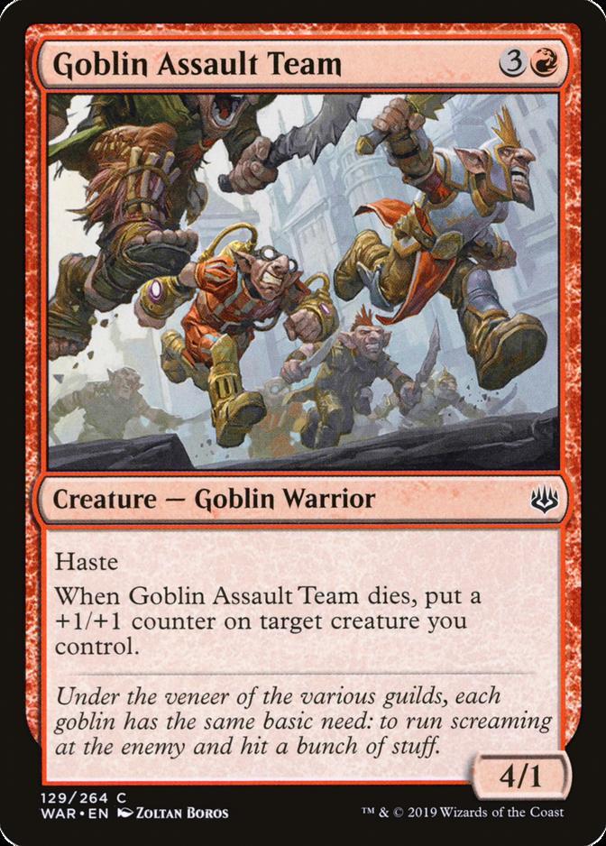 Goblin Assault Team [WAR]
