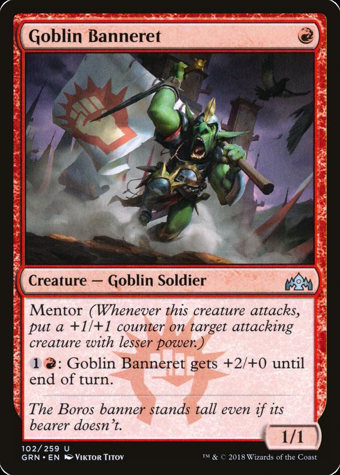 Goblin Banneret [GRN]