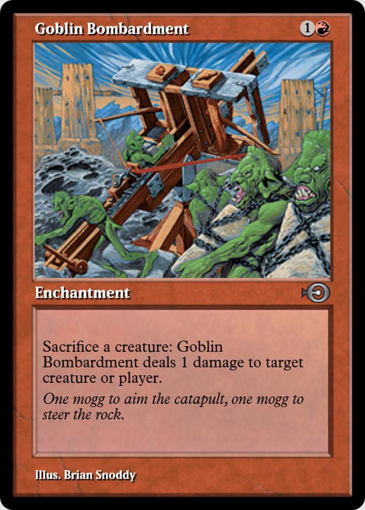 Goblin Bombardment [PRM] (F)