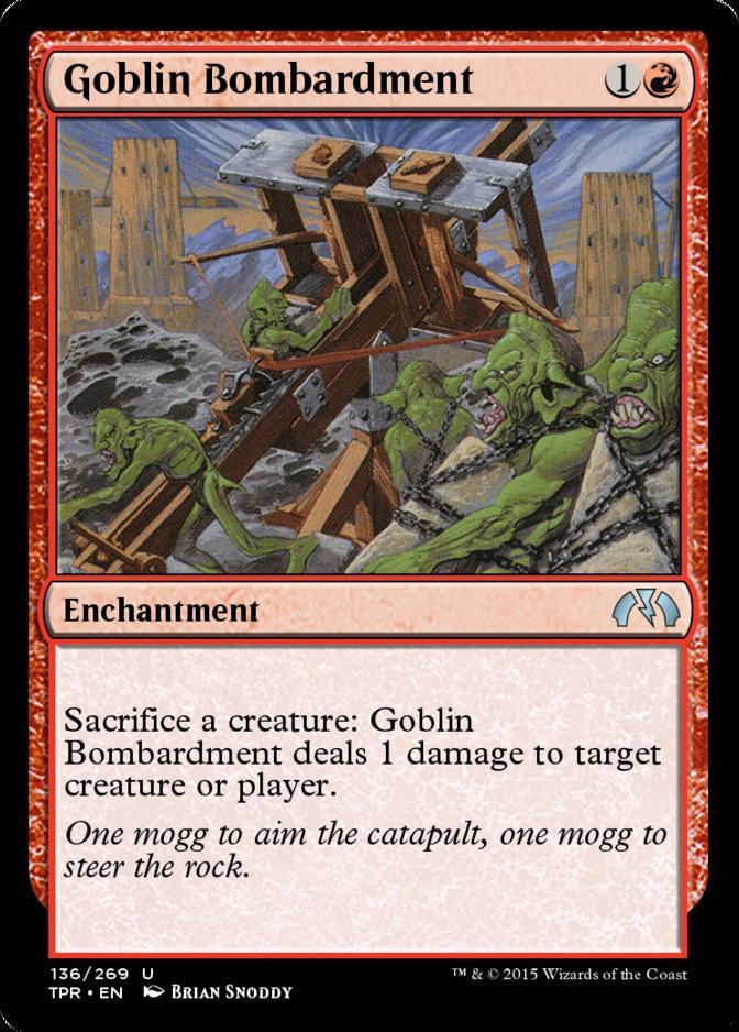 Goblin Bombardment [TPR] (F)