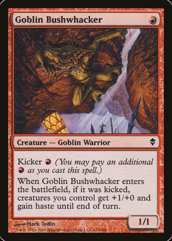Goblin Bushwhacker [ZEN] (F)