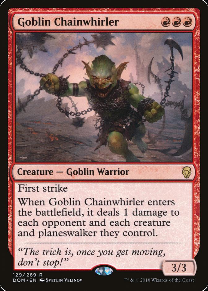 Goblin Chainwhirler [DOM]