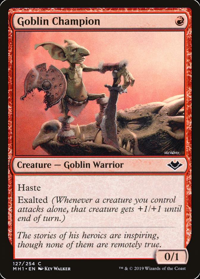 Goblin Champion [MH1]