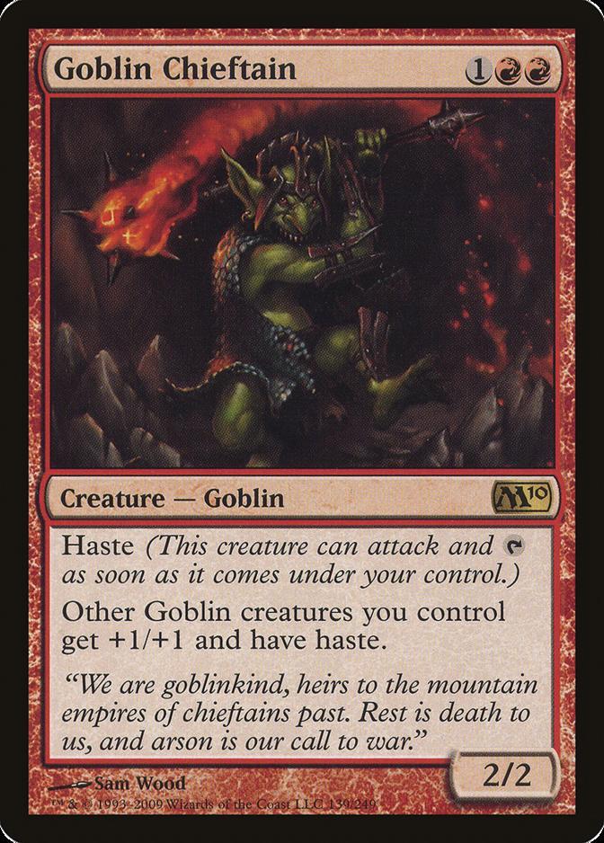 Goblin Chieftain [M10] (F)