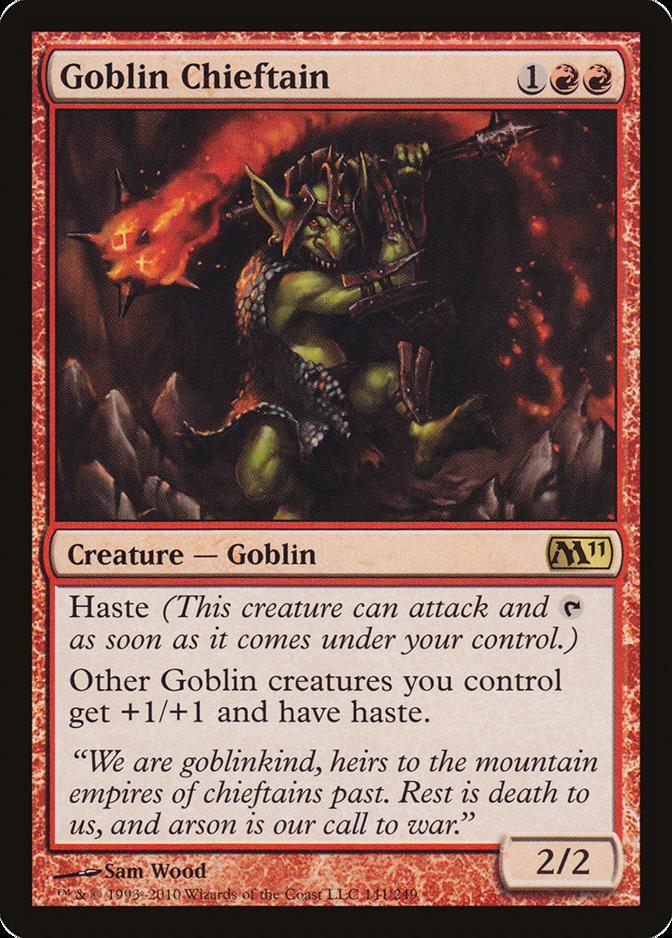 Goblin Chieftain [M11] (F)