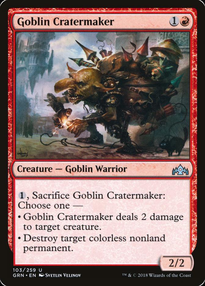Goblin Cratermaker [GRN]