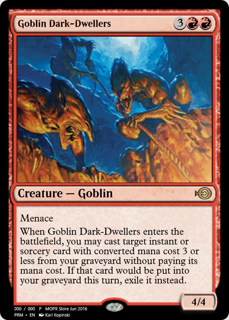 Goblin Dark-Dwellers [PRM]