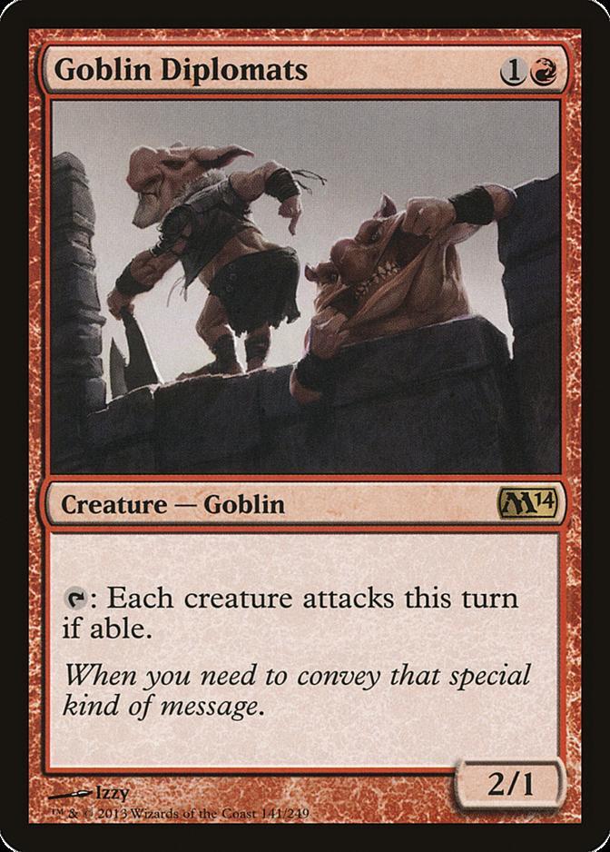 Goblin Diplomats [M14]
