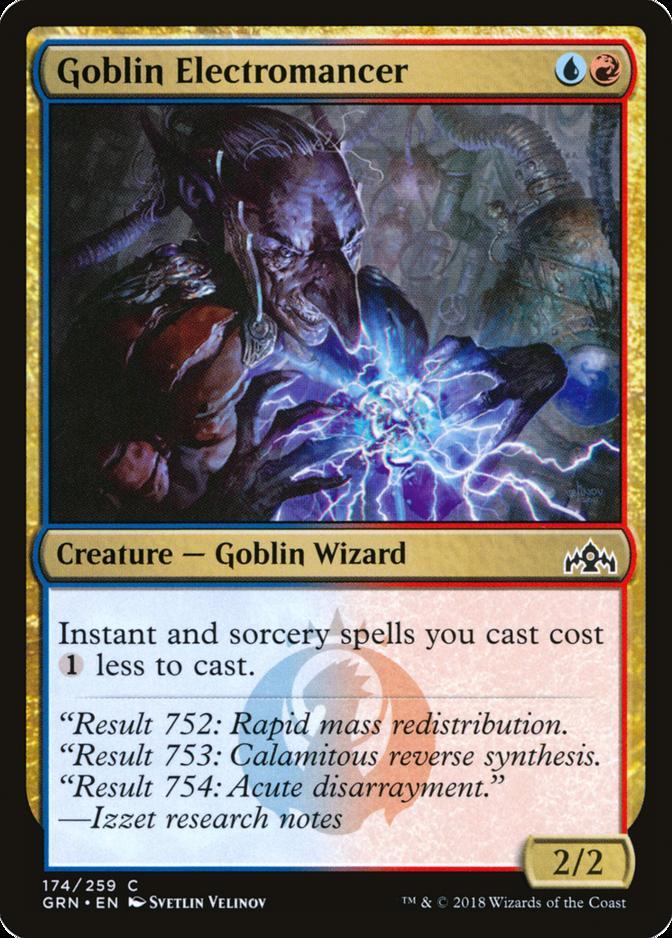 Goblin Electromancer [GRN]