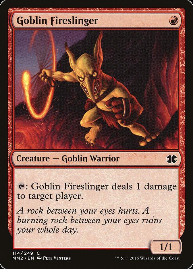 Goblin Fireslinger [MM2] (F)