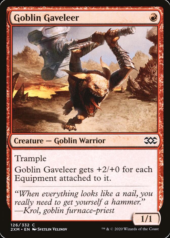 Goblin Gaveleer [2XM]