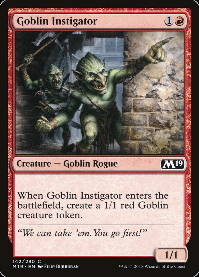 Goblin Instigator [M19]