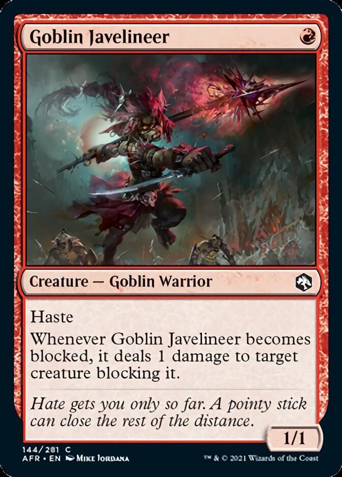 Goblin Javelineer [AFR]