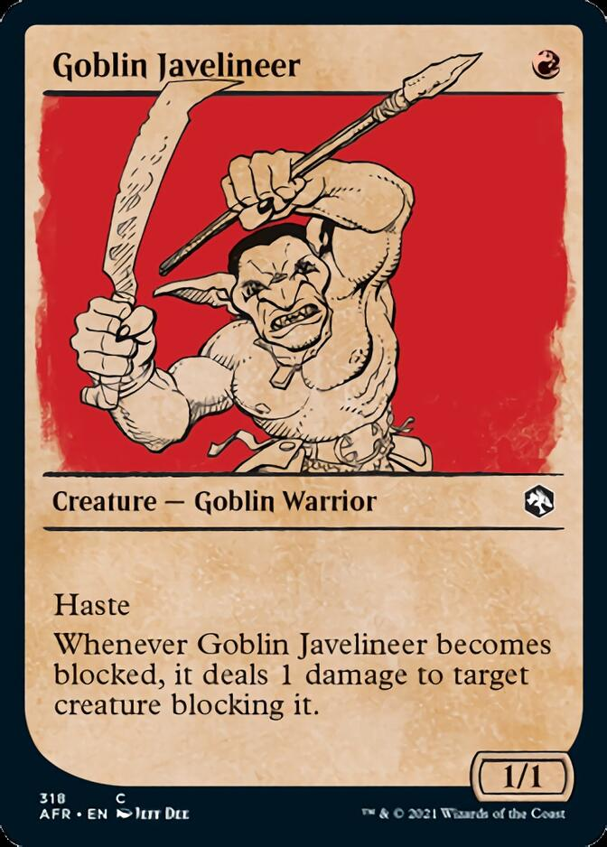 Goblin Javelineer <showcase> [AFR]