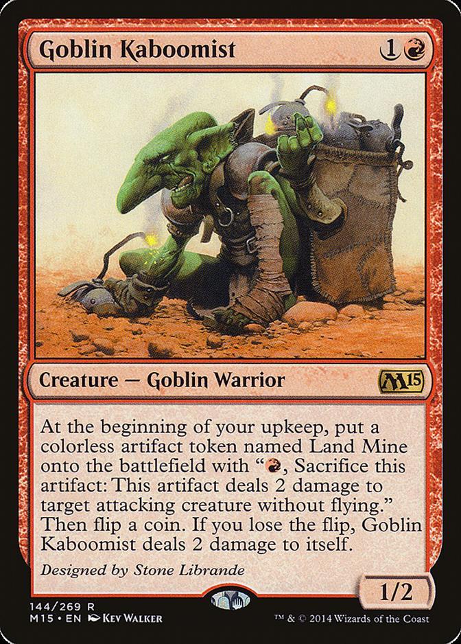 Goblin Kaboomist [M15]