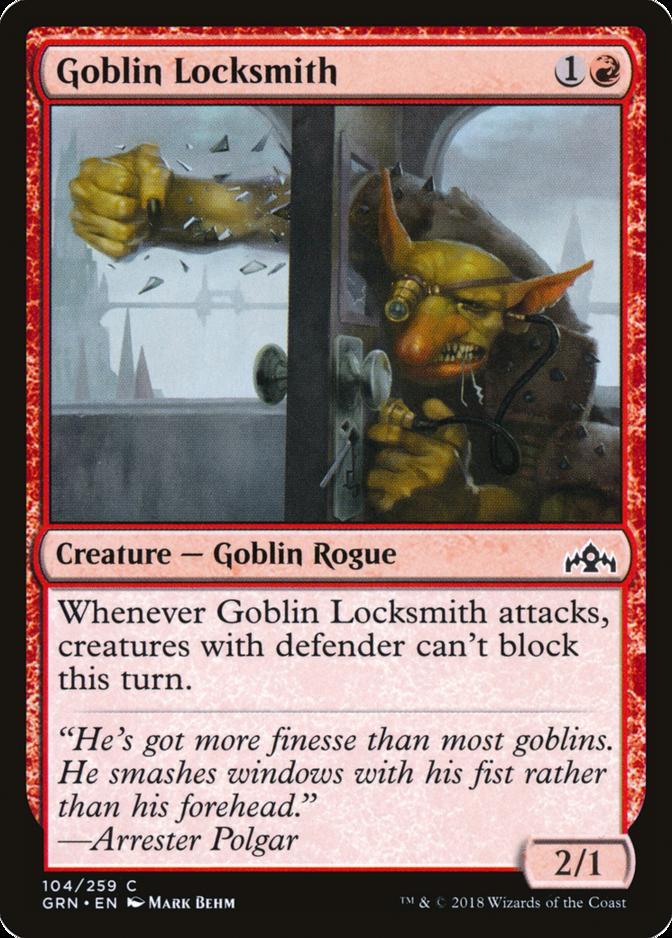 Goblin Locksmith [GRN]