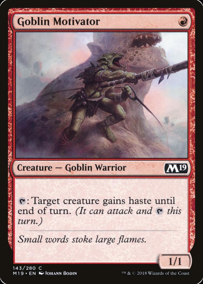 Goblin Motivator [M19]