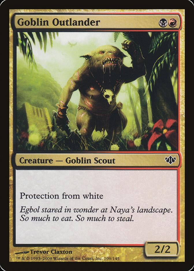 Goblin Outlander [CON]