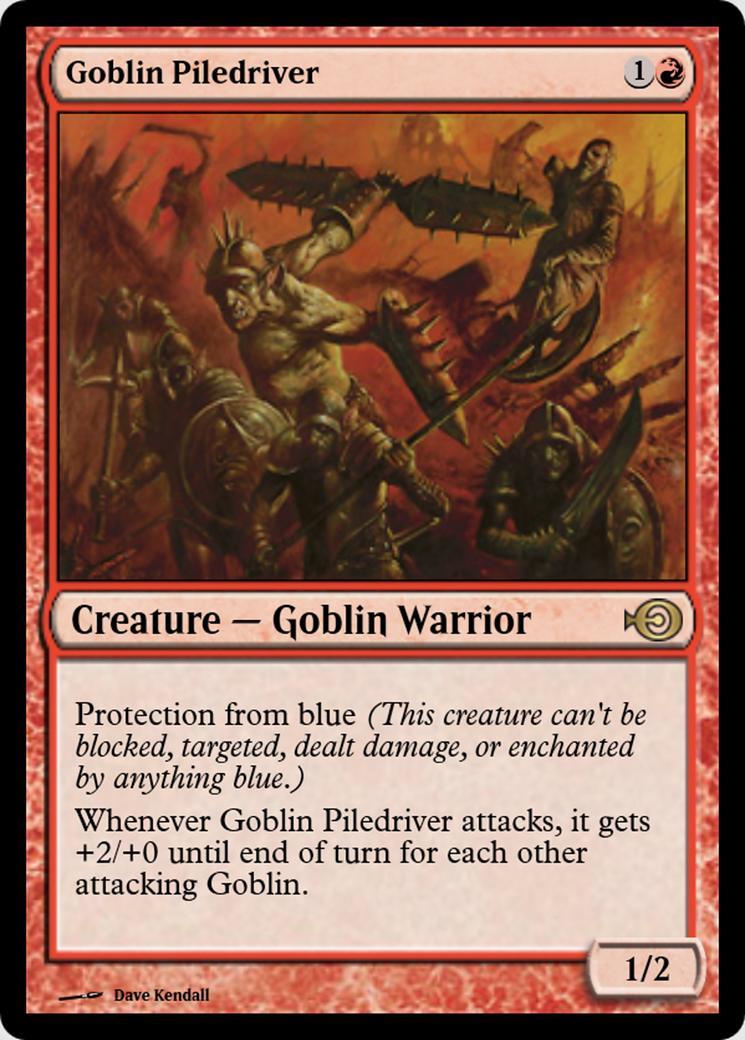 Goblin Piledriver [PRM]