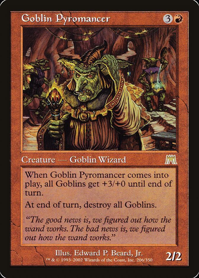 Goblin Pyromancer [ONS]