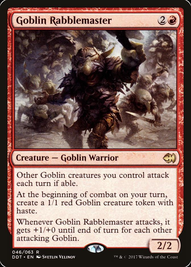 Goblin Rabblemaster [DDT]