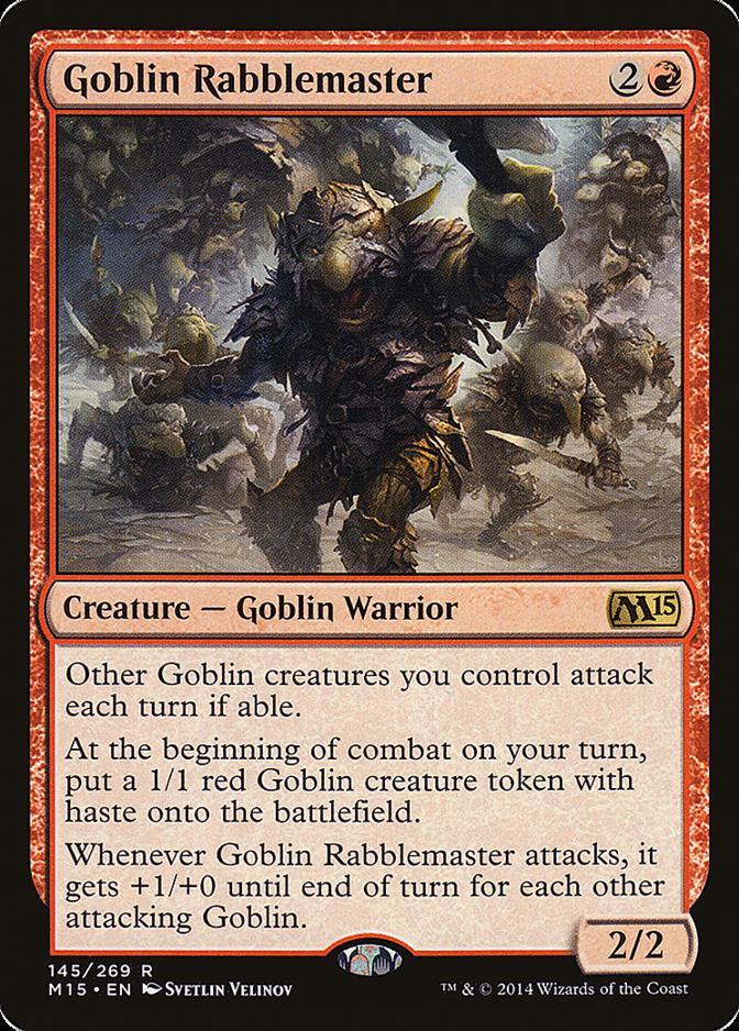Goblin Rabblemaster [M15]