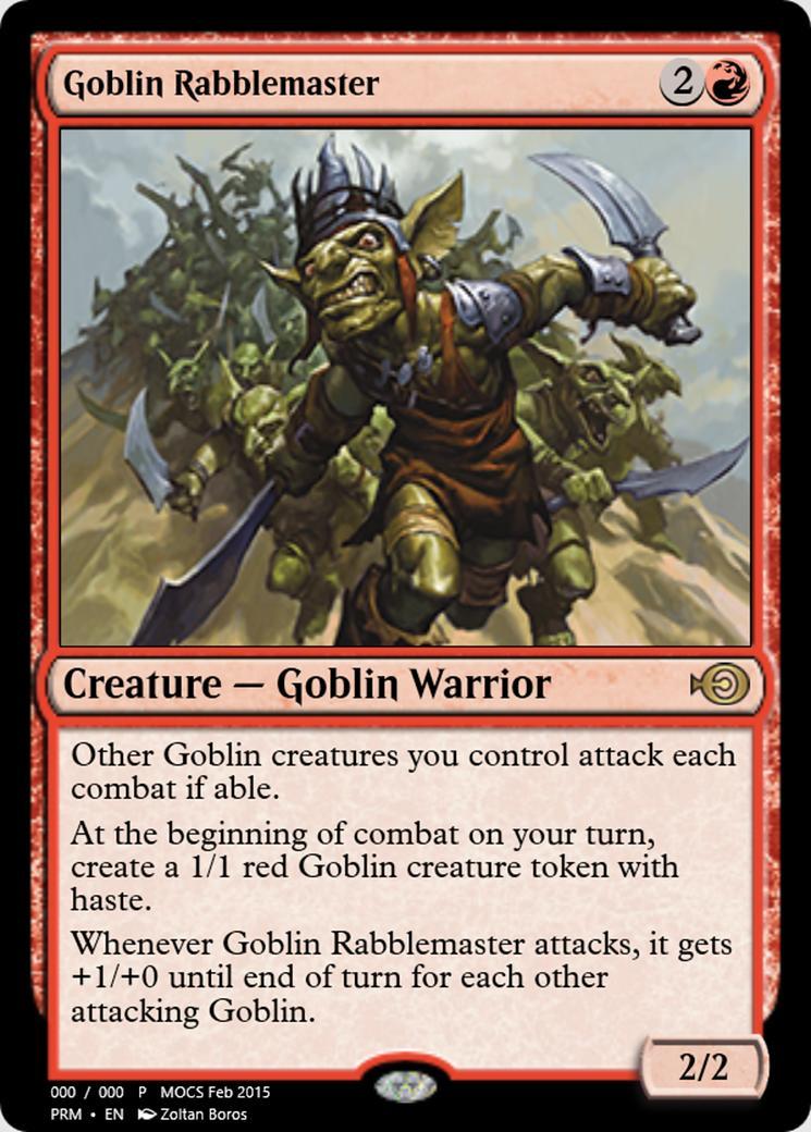Goblin Rabblemaster [PRM] (F)