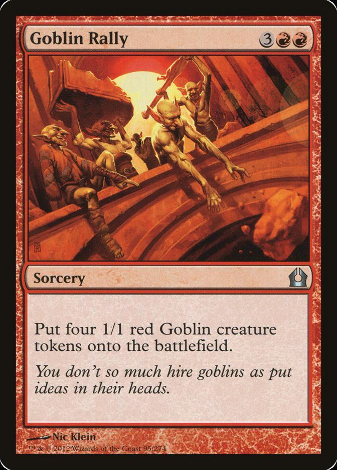 Goblin Rally [RTR] (F)