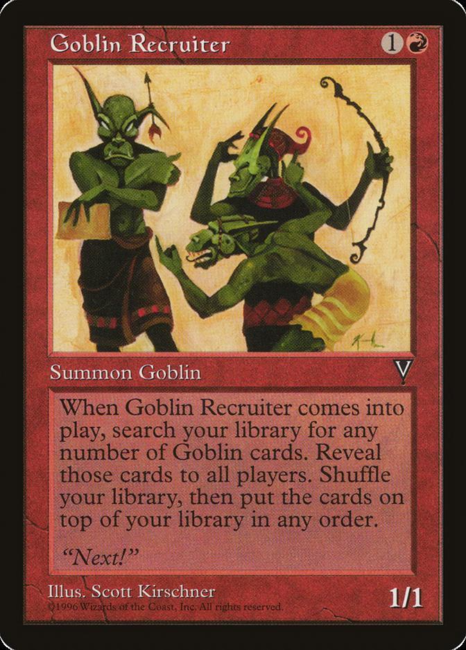 Goblin Recruiter [VI]