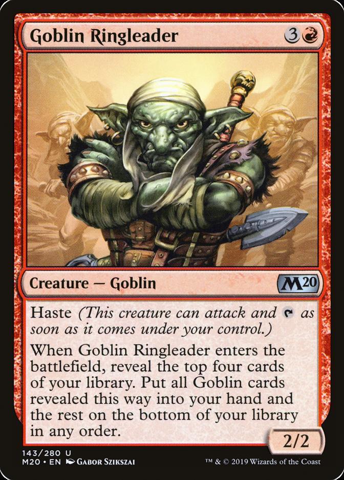 Goblin Ringleader [M20]