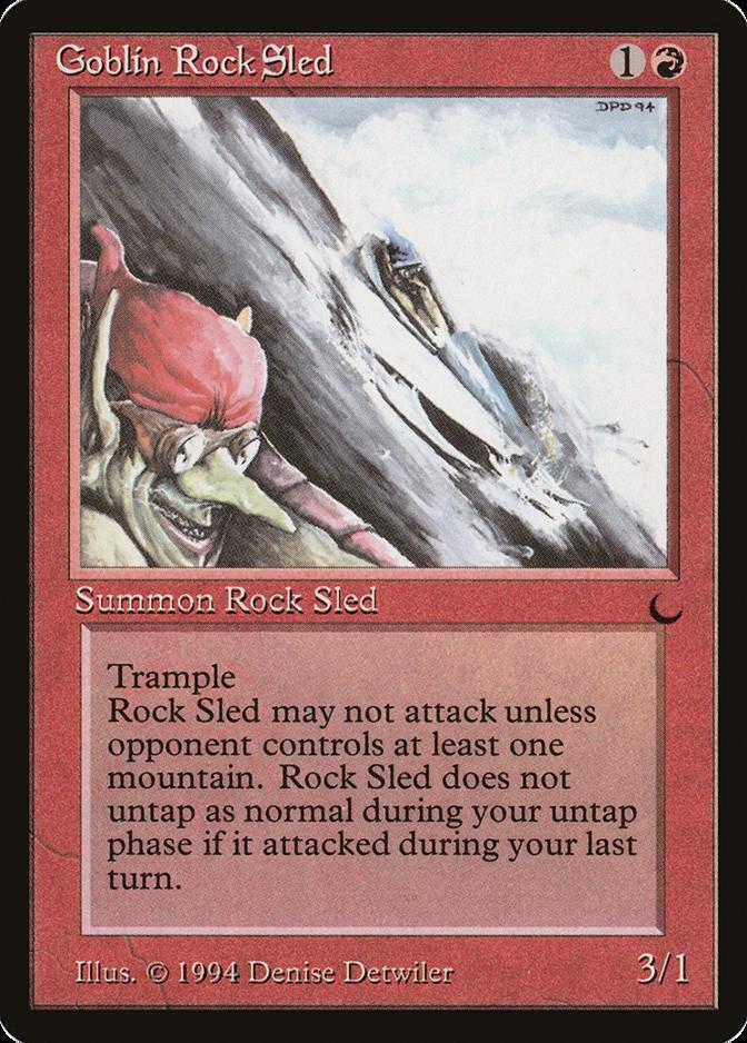 Goblin Rock Sled [DRK]