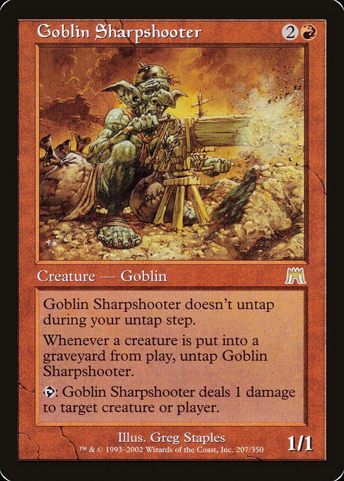 Goblin Sharpshooter [ONS] (F)