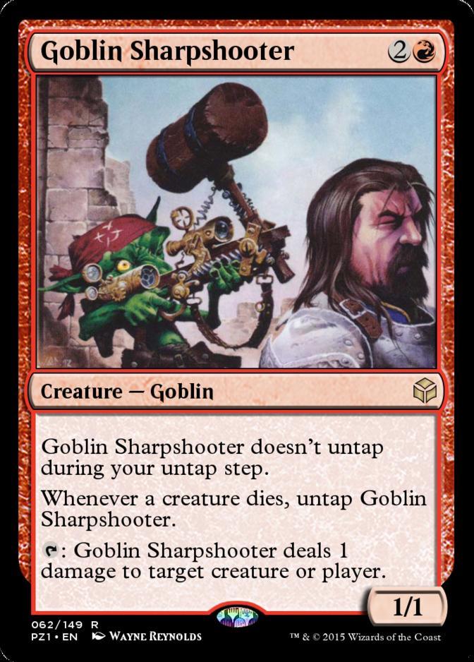 Goblin Sharpshooter [PZ1] (F)