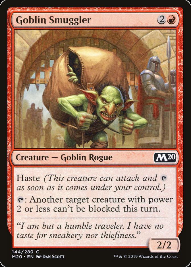 Goblin Smuggler [M20]