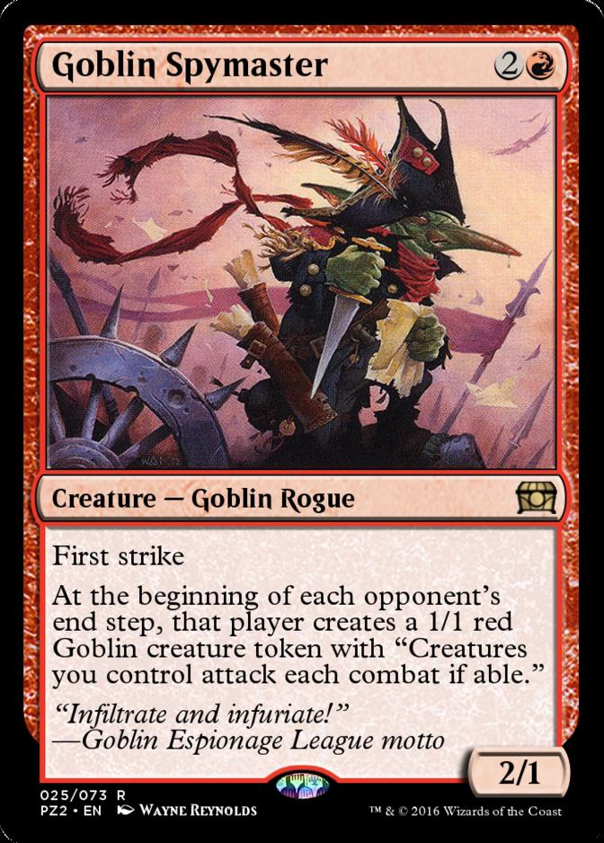 Goblin Spymaster [PZ2] (F)