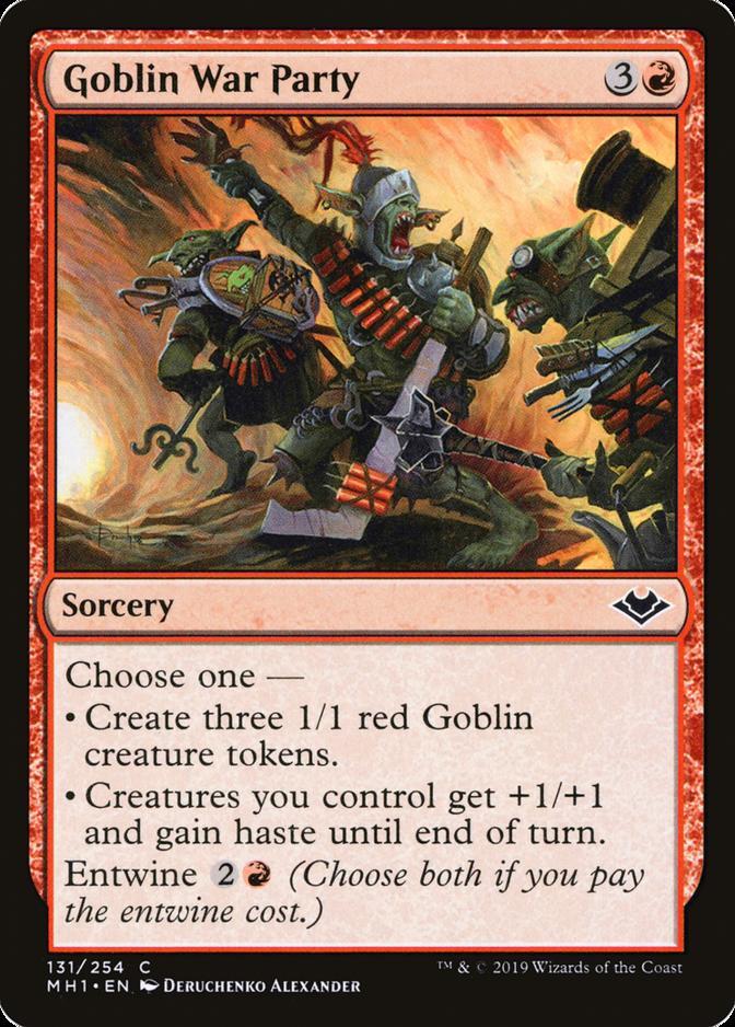 Goblin War Party [MH1]