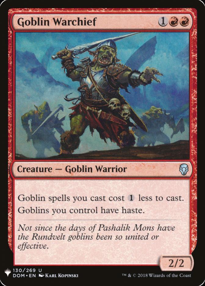 Goblin Warchief [MB1]
