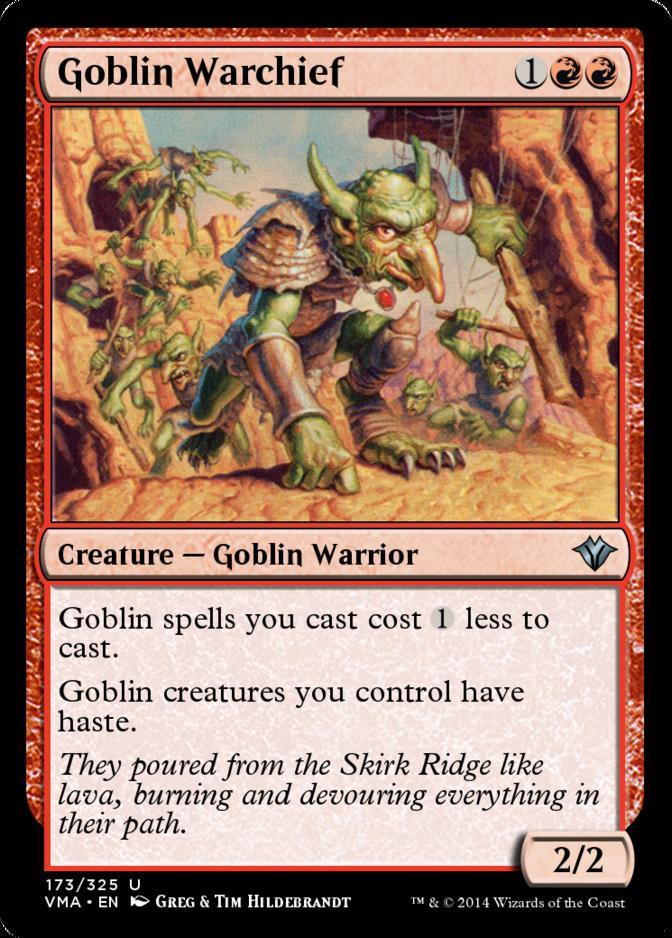 Goblin Warchief [VMA] (F)