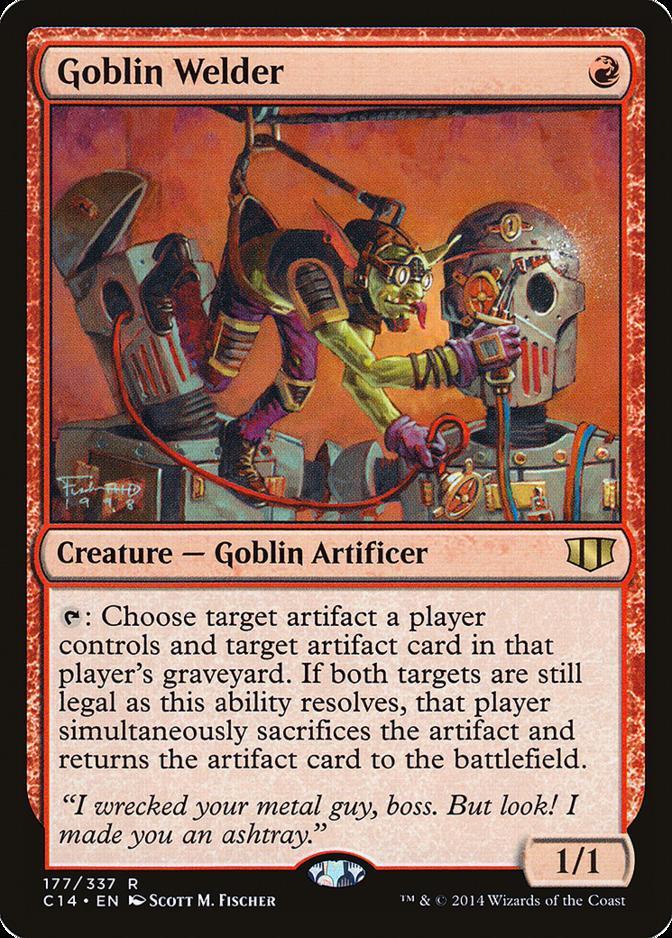 Goblin Welder [C14] (F)