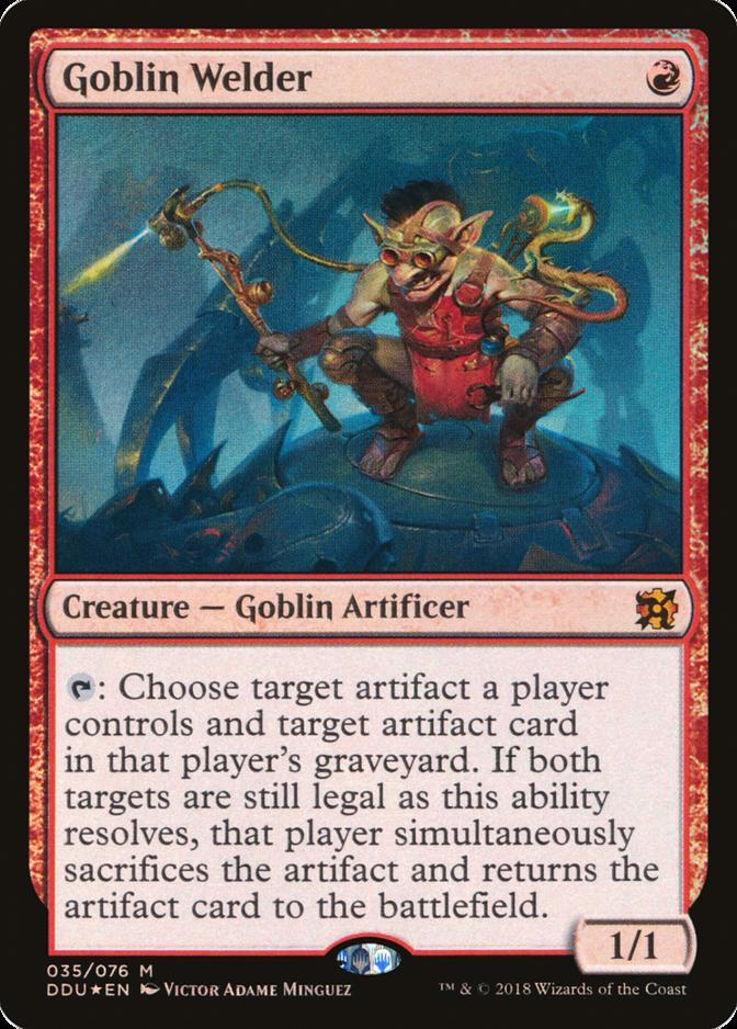 Goblin Welder [DDU] (F)