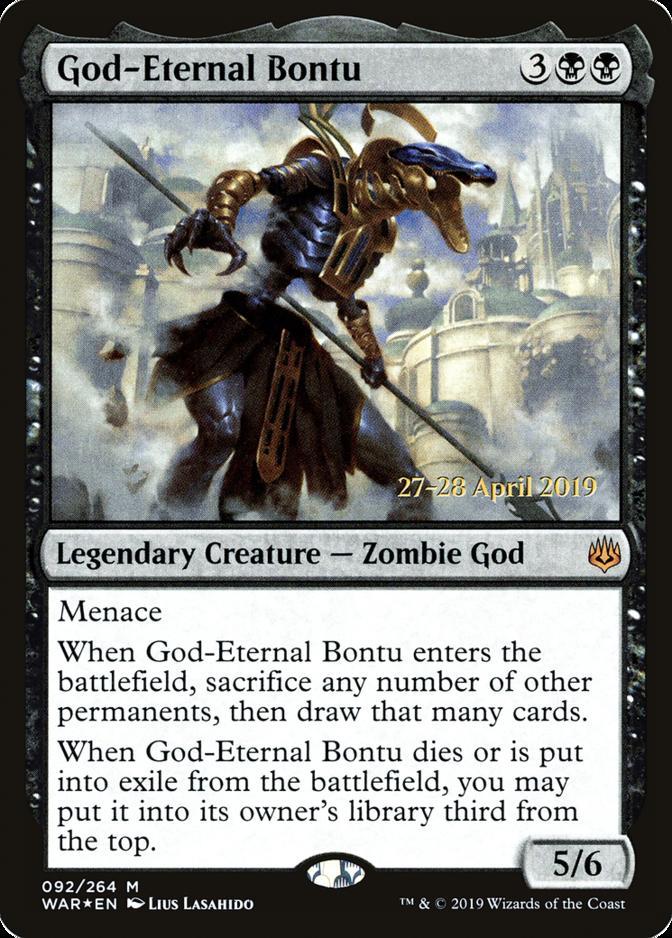 God-Eternal Bontu [PRM-PRE] (F)