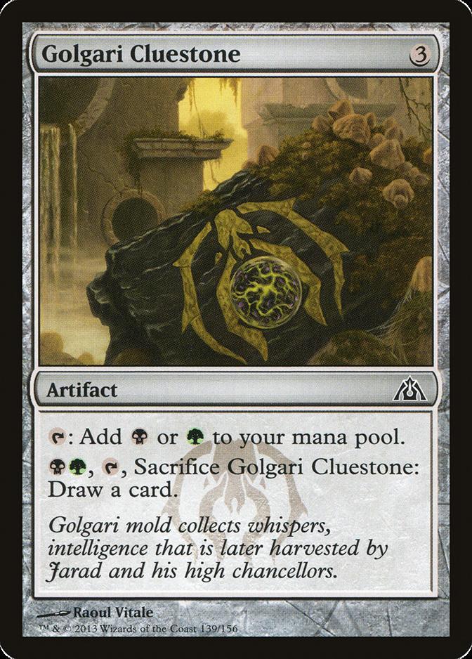 Golgari Cluestone [DGM]