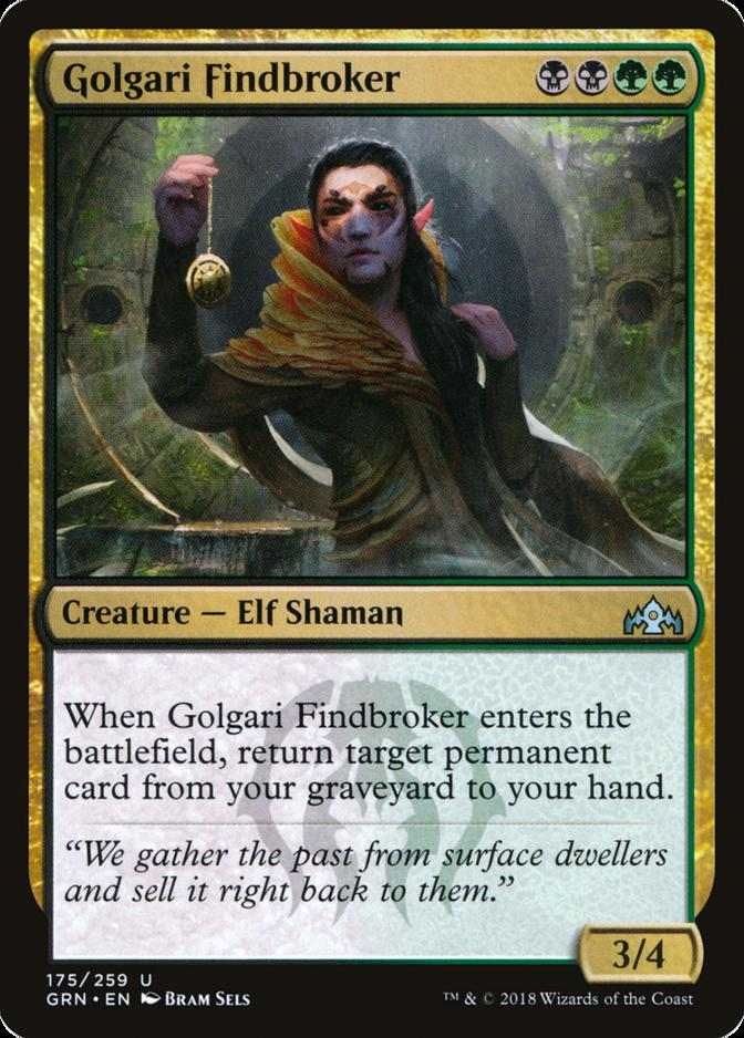 Golgari Findbroker [GRN]