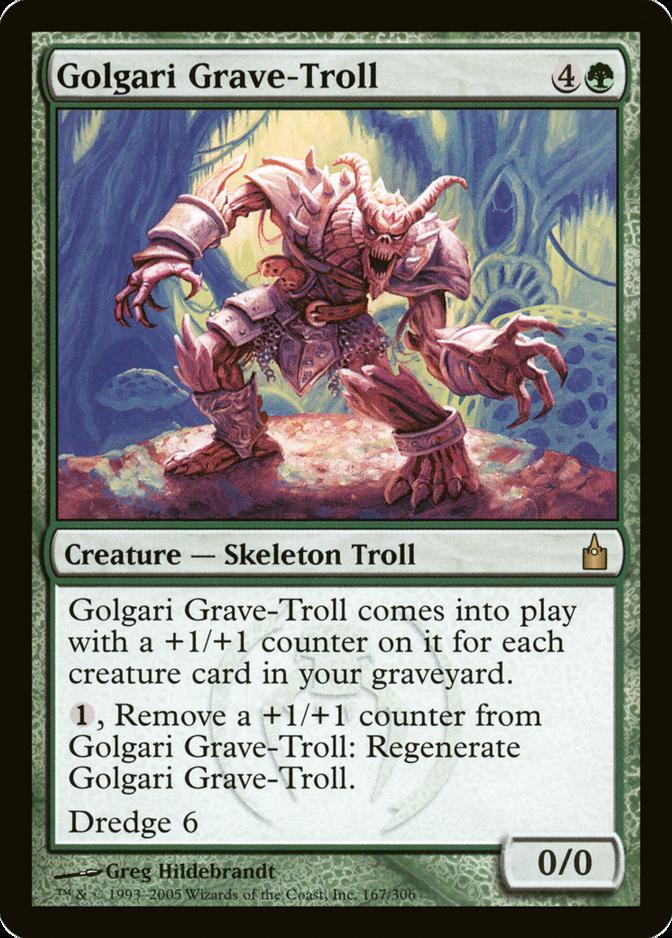 Golgari Grave-Troll [RAV]