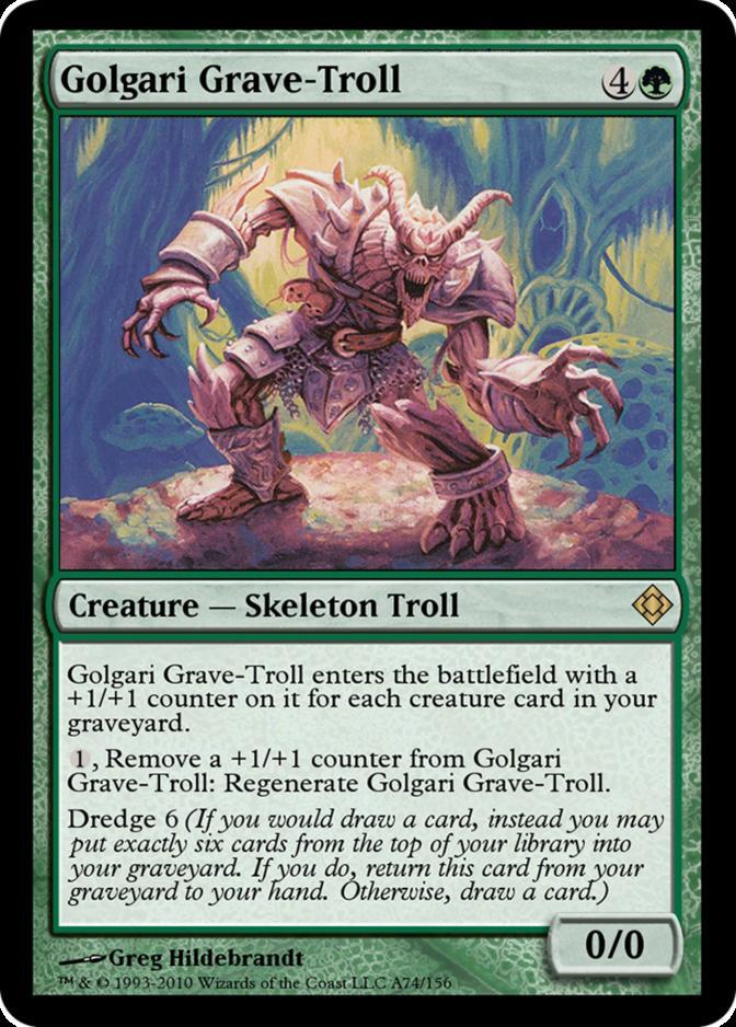 Golgari Grave-Troll [TD0]