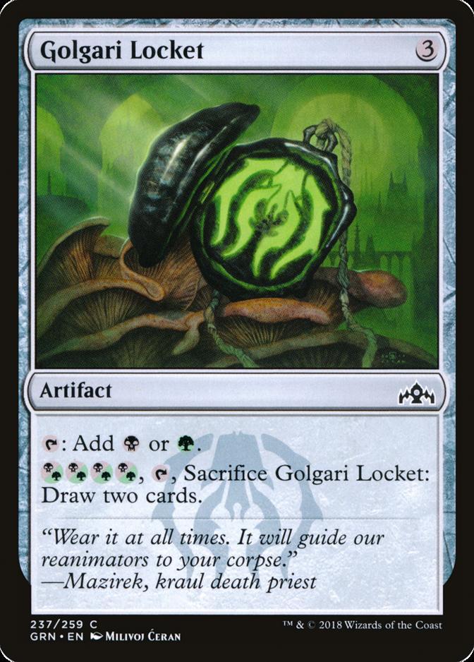 Golgari Locket [GRN]