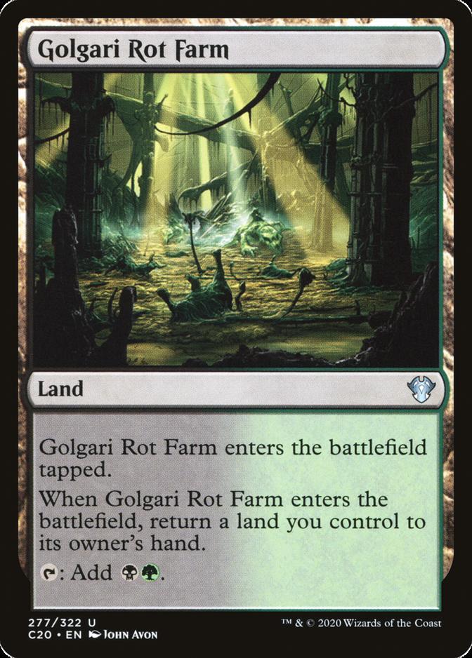 Golgari Rot Farm [C20]